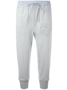 спортивные брюки с цветочной вышивкой 3.1 Phillip Lim