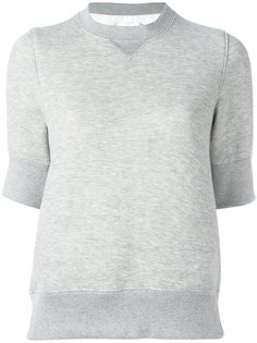 утепленная футболка Sacai