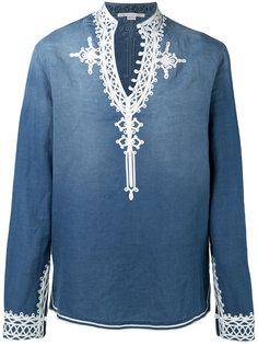 рубашка с вышивкой  Stella McCartney