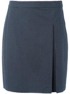 юбка с принтом в горох A.P.C.