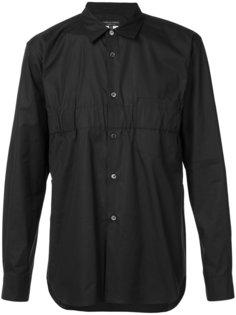 рубашка с присборенной деталью Comme Des Garçons Homme Plus