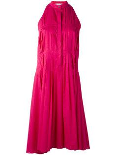 плиссированное расклешенное платье  Io Ivana Omazic