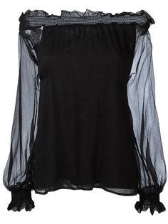 блузка с открытыми плечами P.A.R.O.S.H.