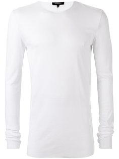футболка с круглым вырезом в рубчик Unconditional