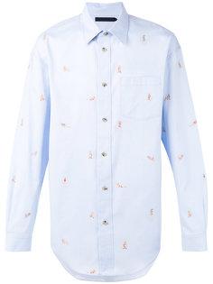 рубашка с принтом  Alexander Wang