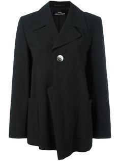 трикотажный жаккардовый пиджак с растительным орнаментом  Comme Des Garçons Vintage