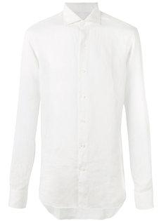 рубашка с косым воротником Alessandro Gherardi