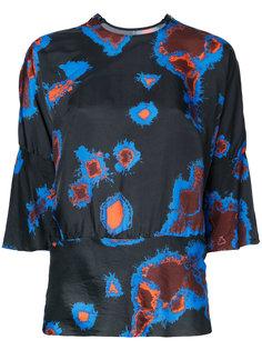 блузка с абстрактным принтом Theatre Products
