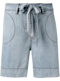 джинсовые шорты  Diesel