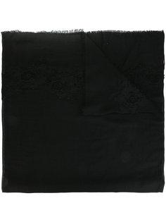 шарф с кружевной отделкой P.A.R.O.S.H.
