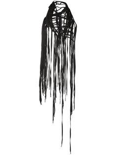 шарф с бахромой Ann Demeulemeester