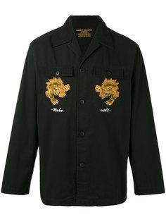 куртка с вышивкой Maharishi