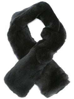шарф с кроличьим мехом N.Peal