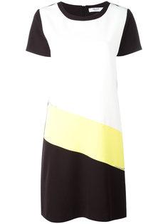платье с контрастными панелями Blugirl