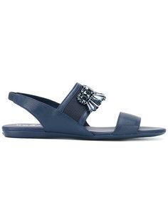 декорированные сандалии Hogan