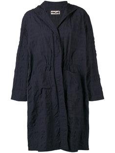 однобортное пальто Hache