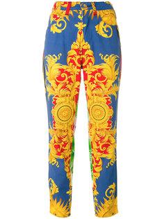 брюки Sun Baroque Versace Vintage