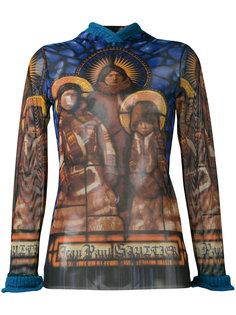 легкая блуза с капюшоном Jean Paul Gaultier Vintage