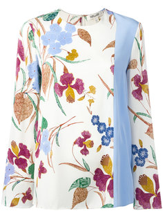 топ с цветочным принтом Diane Von Furstenberg