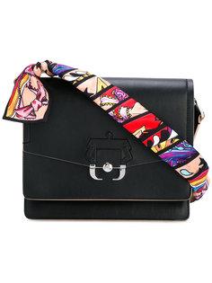 сумка на плечо с принтом на лямке Paula Cademartori