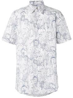 рубашка с короткими рукавами и узором Paul By Paul Smith
