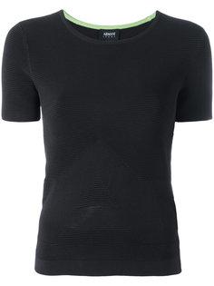 однотонная футболка Armani Jeans