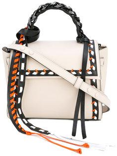 сумка-хобо с отделкой Elena Ghisellini