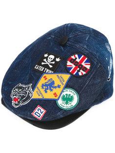 джинсовая шляпа Hackney Dsquared2