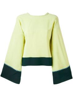 блузка с расклешенными рукавами Etro