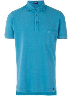 рубашка-поло с нагрудным карманом Drumohr