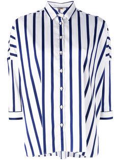 легкая рубашка в полоску Fay