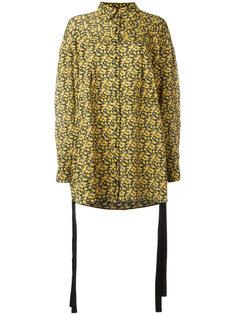 свободная рубашка с цветочным принтом Magda Butrym