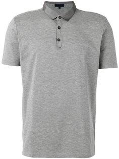 рубашка-поло с атласным воротником Lanvin