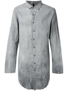 длинная рубашка с эффектом помятости Army Of Me