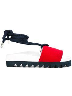 сандалии с завязками на щиколотке Joshua Sanders