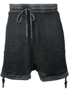 шорты с вышивкой  11 By Boris Bidjan Saberi