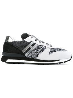 кроссовки на шнуровке Hogan Rebel