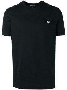 футболка с нашивкой-лапой Markus Lupfer