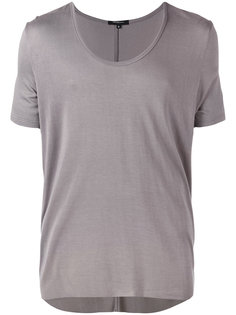 футболка с вырезом-ковш Unconditional