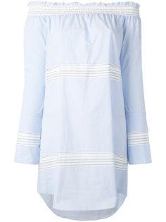 платье с приспущенными плечами Derek Lam 10 Crosby