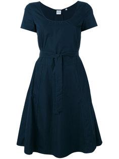 расклешенное платье с поясом Aspesi