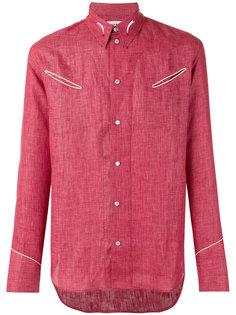 рубашка с прорезными карманами Umit Benan