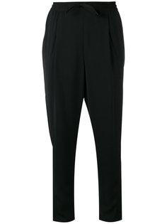 укороченные брюки со шнурком  Sonia By Sonia Rykiel