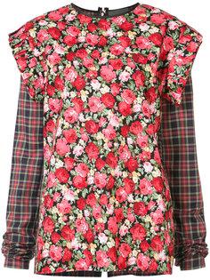 блуза с оборками Les Animaux
