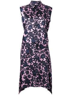 платье с цветочным узором без рукавов Christian Wijnants