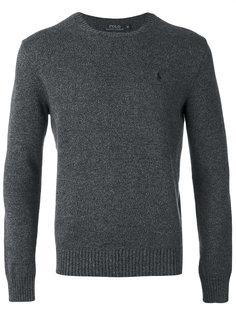 свитер с вышивкой Polo Ralph Lauren