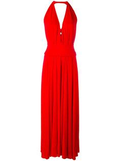 платье с глубоким V-образным вырезом Stephan Janson