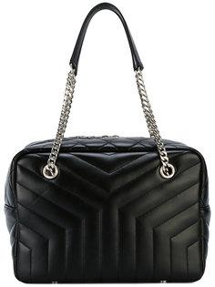 стеганая сумка-тоут Y Saint Laurent