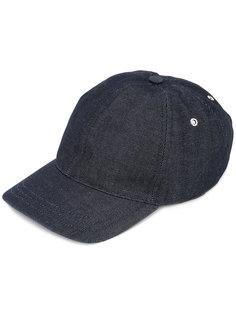 джинсовая кепка A.P.C.