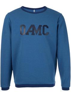 джемпер с принтом-логотипом Oamc